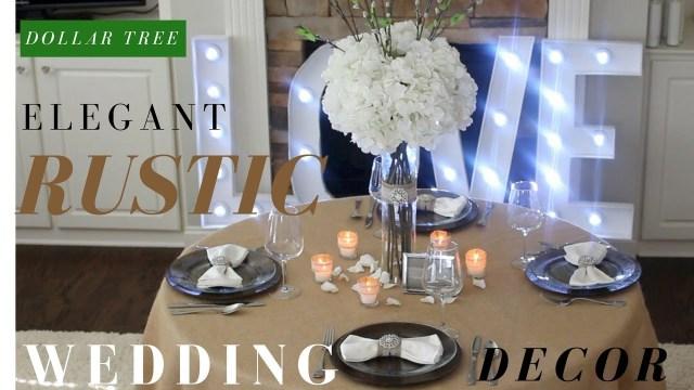 Diy Rustic Wedding Diy Rustic Wedding Decoration Ideas Dollar Tree Diy Wedding
