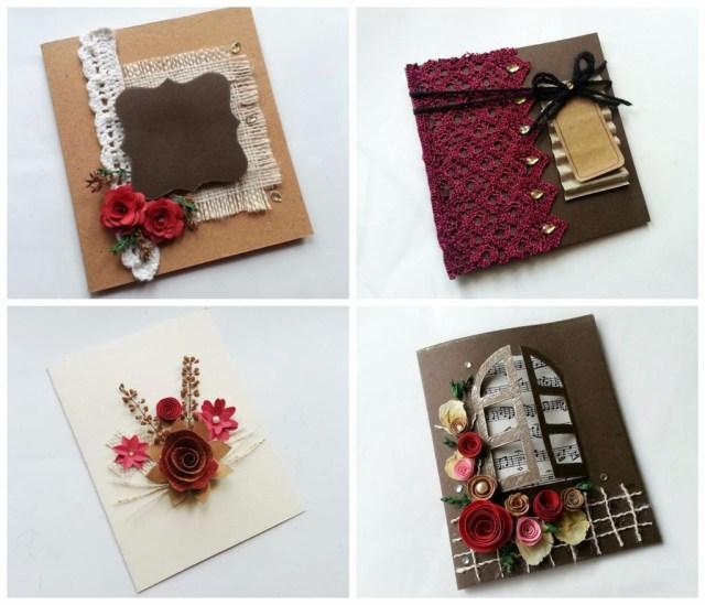 Diy Vintage Wedding Diy Vintage Wedding Cards 6 Steps