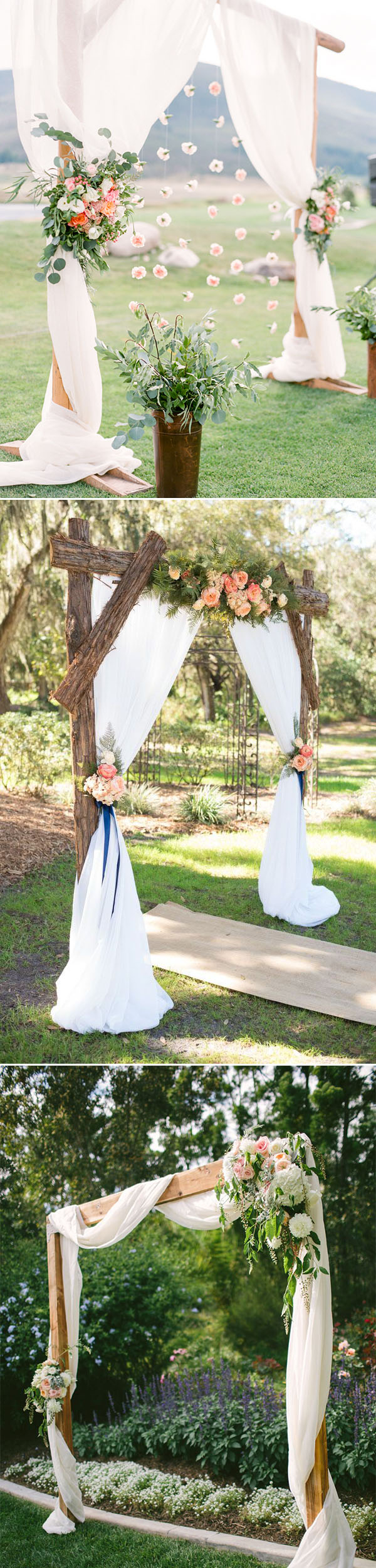 Diy Wedding Alter 30 Best Floral Wedding Altars Arches Decorating Ideas Stylish