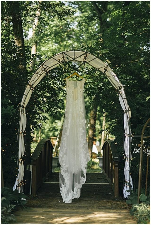 Diy Wedding Alter Chic Diy Wedding With Rose Gold Details