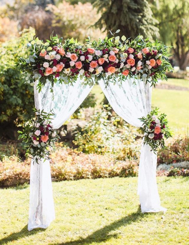 Diy Wedding Alter Diy Wedding Arbor From Fiftyflowers