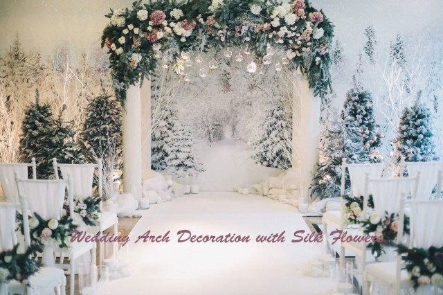 Diy Wedding Alter Get Inspired To Diy A Wedding Arch With Silk Flowers For Different