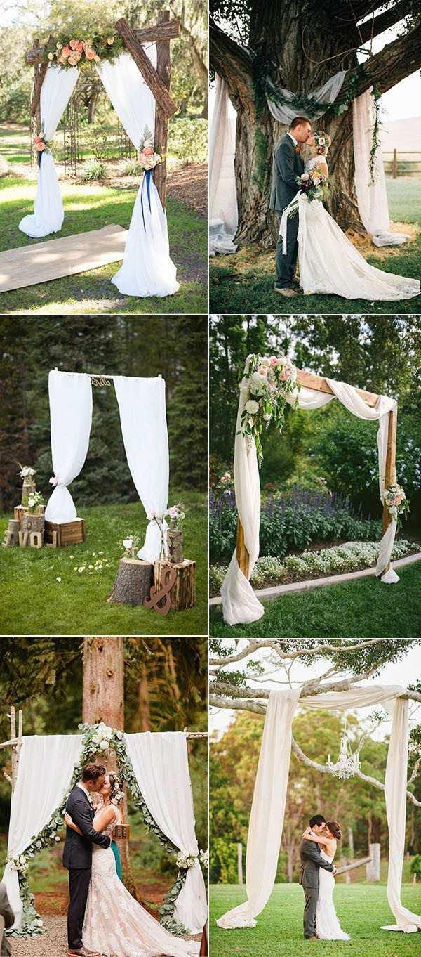 Diy Wedding Alter Others Wedding Arch Alternatives Grapevine Arch Diy Wedding Altar