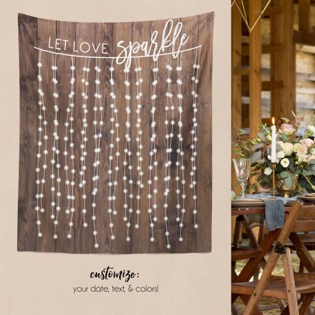 Diy Wedding Backdrop Diy Wedding Wall Rustic Wedding Backdrop Custom Tapestry Etsy