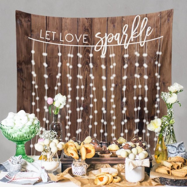 Diy Wedding Backdrop Rustic Wedding Backdrop Custom Tapestry Dessert Table Banner