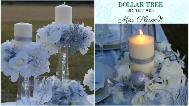 Diy Wedding Centerpiece Diy Dollar Tree Wedding Centerpiece For 10 Diy Dollar Tree Decor