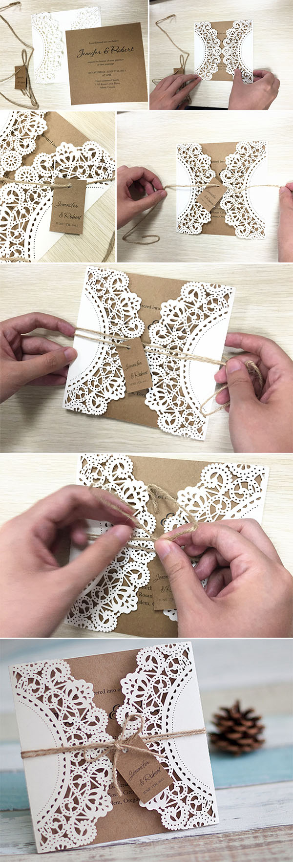 Diy Wedding Invitation Ideas Diy Wedding Ideas 10 Perfect Ways To Use Paper For Weddings