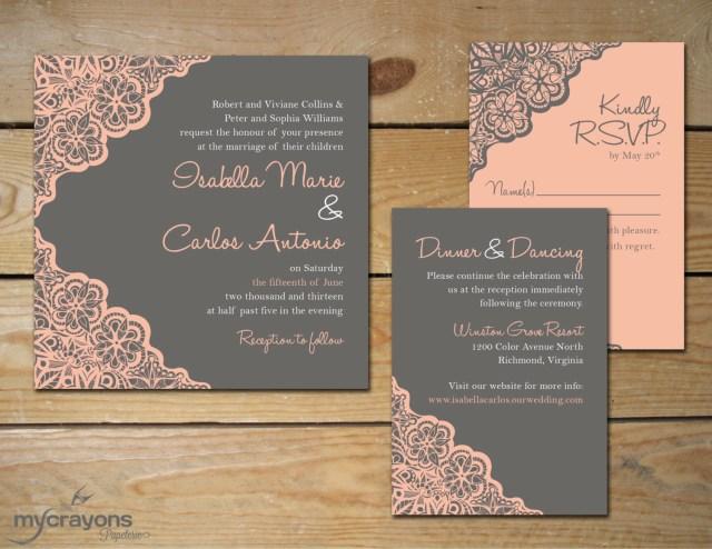 Diy Wedding Invitations Ideas Wedding Invitation Diy Wedding Invitation Diy Easy On The Eye