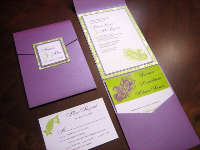 Diy Wedding Invitations Kits 206458 Purple Diy Wedding Invitation Kits Elegant The Wedding