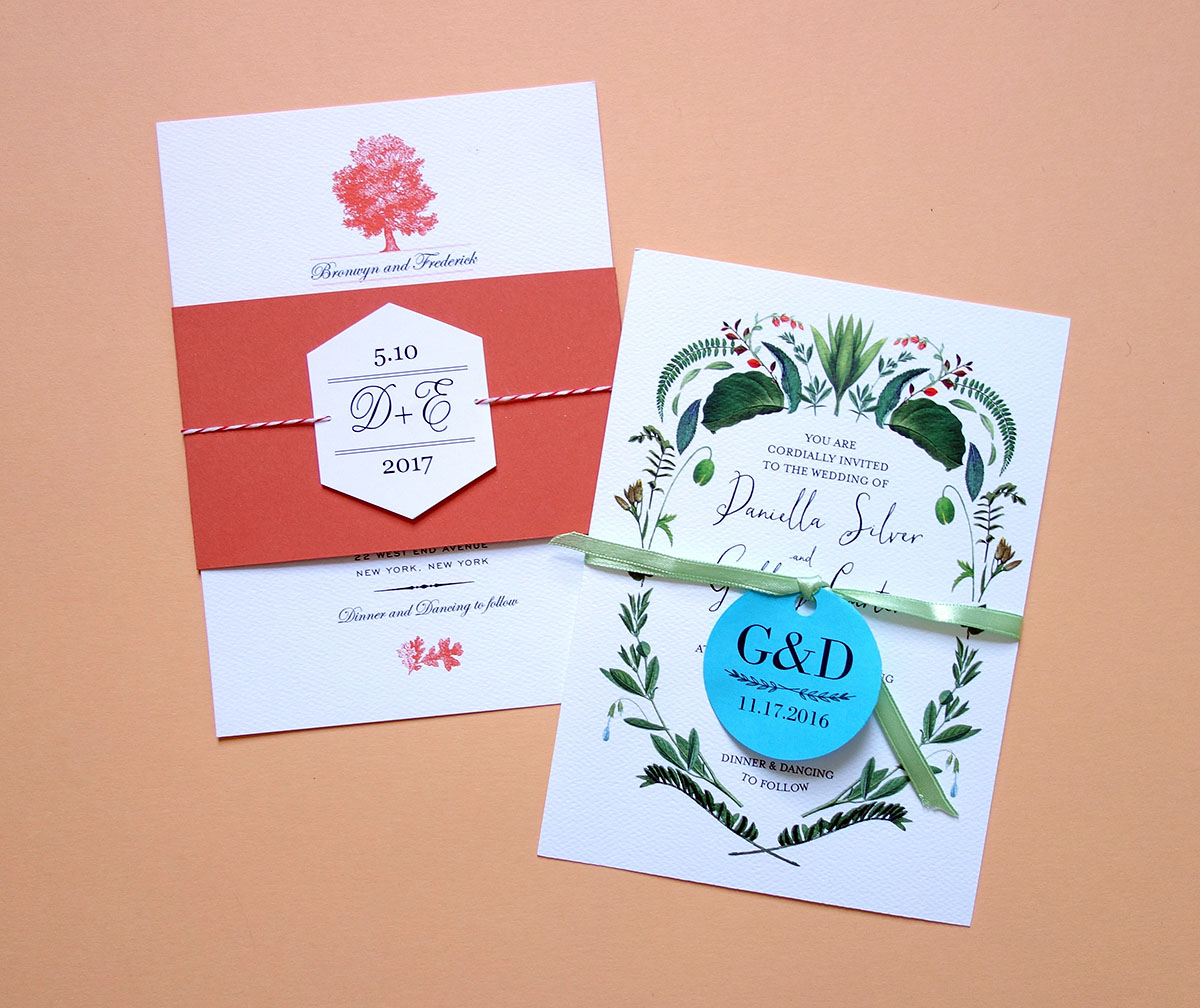 Diy Wedding Invites Free Printable Belly Bands And Tags For Your Diy Invitations