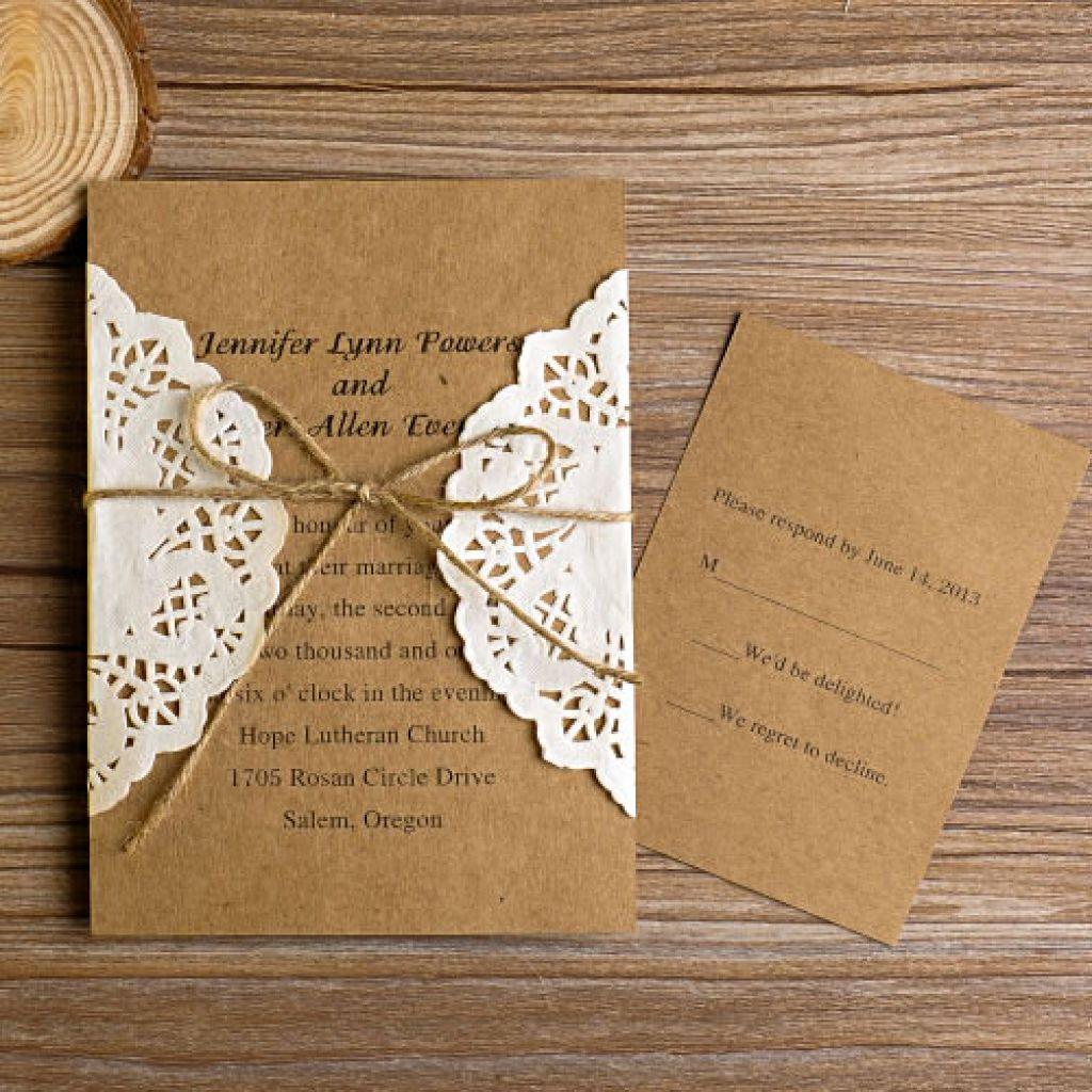 Diy Wedding Invites Gorgeous Diy Wedding Invitations Diy Wedding Invitations