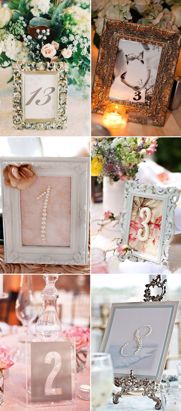Diy Wedding Tables 51 Creative Diy Wedding Table Number Ideas Deer Pearl Flowers