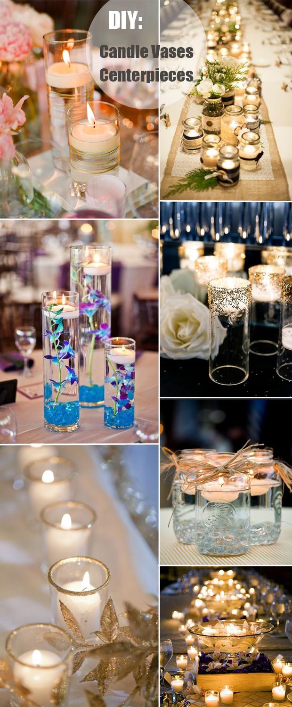 Diy Wedding Vases 40 Diy Wedding Centerpieces Ideas For Your Reception Tulle