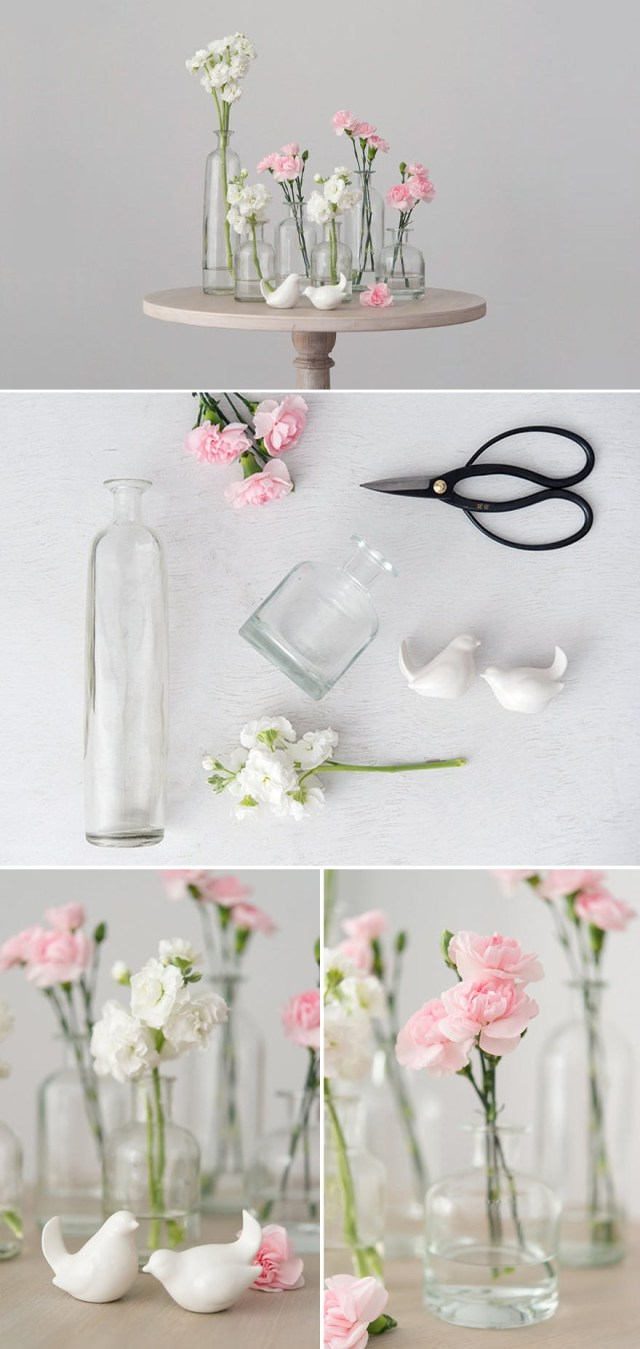 Diy Wedding Vases 50 Stunning Diy Wedding Centrepieces Ideas And Inspiration