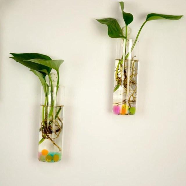 Diy Wedding Vases 6 Shapes Clear Hanging Glass Vase Flower Plants Terrarium Vase