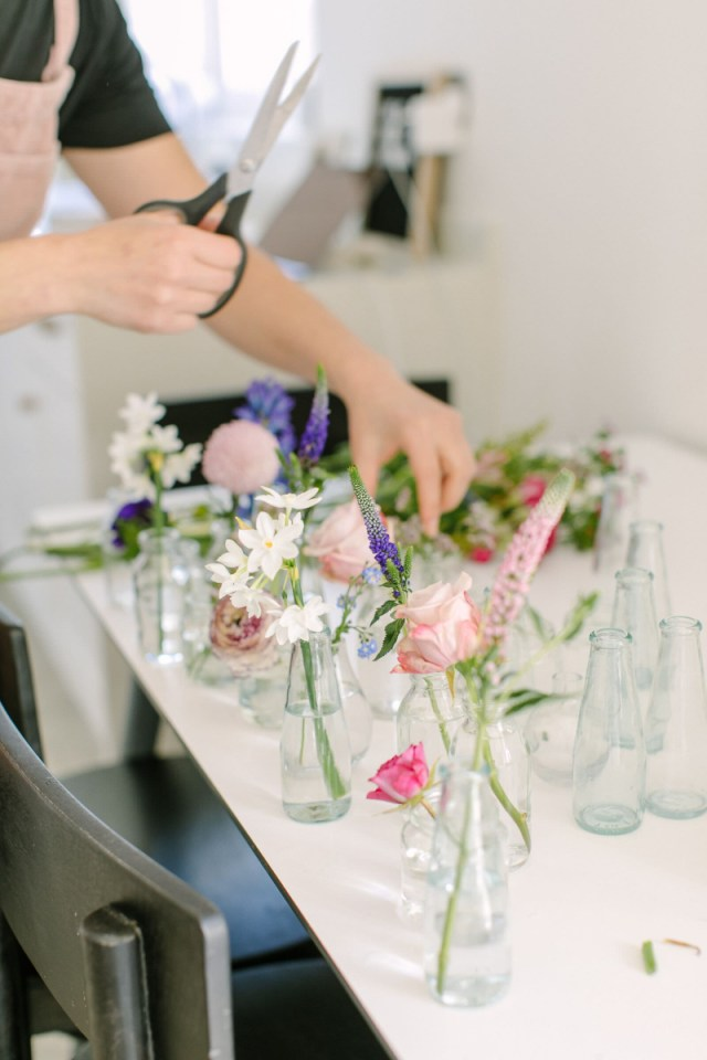 Diy Wedding Vases Diy Wedding Centrepiece How To Make Your Own Floral Centrepiece