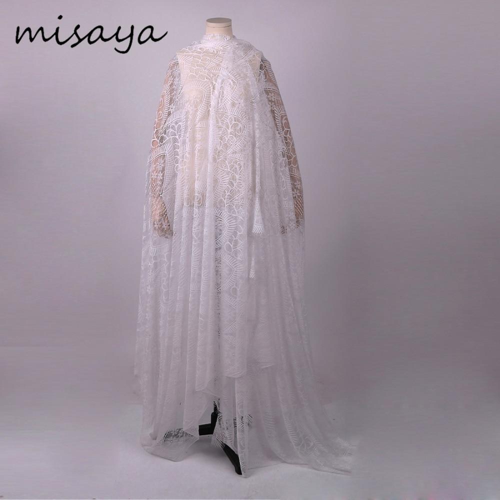 Diy Wedding Veil.Diy Wedding Veil Misaya 3meter Chantilly Eyelash Lace Trim Width