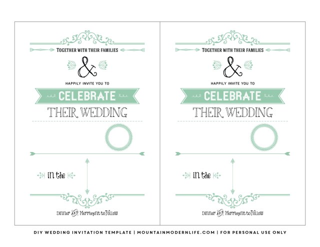 Do It Yourself Wedding Invitations Templates Do It Yourself Wedding Invitations Templates Do It Yourself Wedding