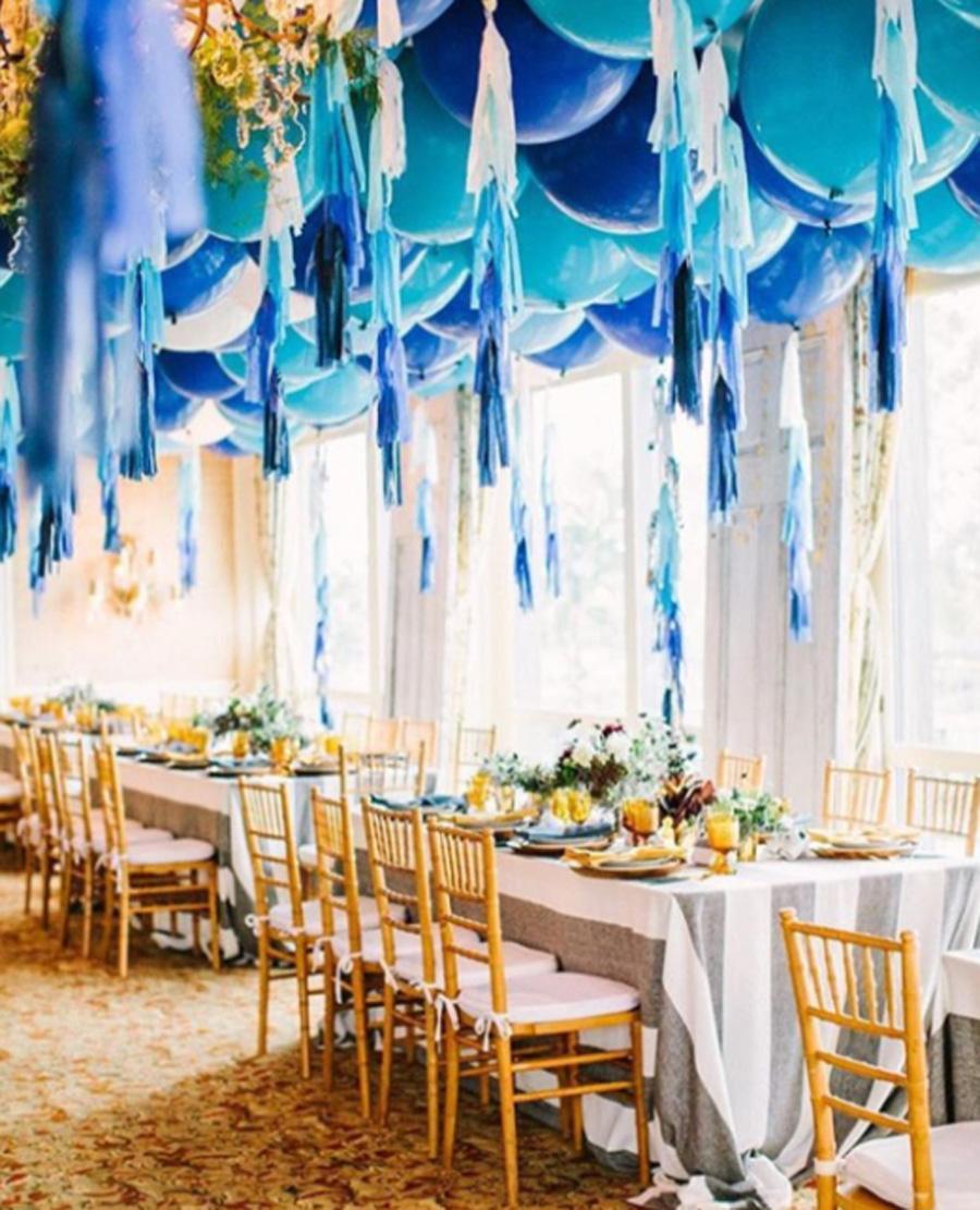 Doilie Wedding Decor Pretty Wedding Ceiling Decor Doilies Fairy Lights And More