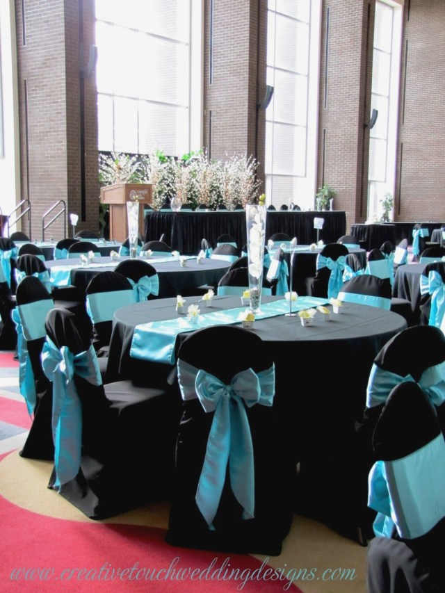 Dream Wedding Decorations Aqua Black White Wedding Table Dream Wedding Pinterest Wedding
