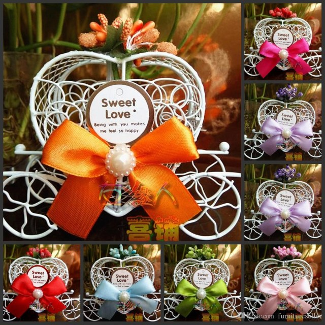 Dream Wedding Decorations European Style Princess Wedding Decorations Dream Pumpkin Car Candy
