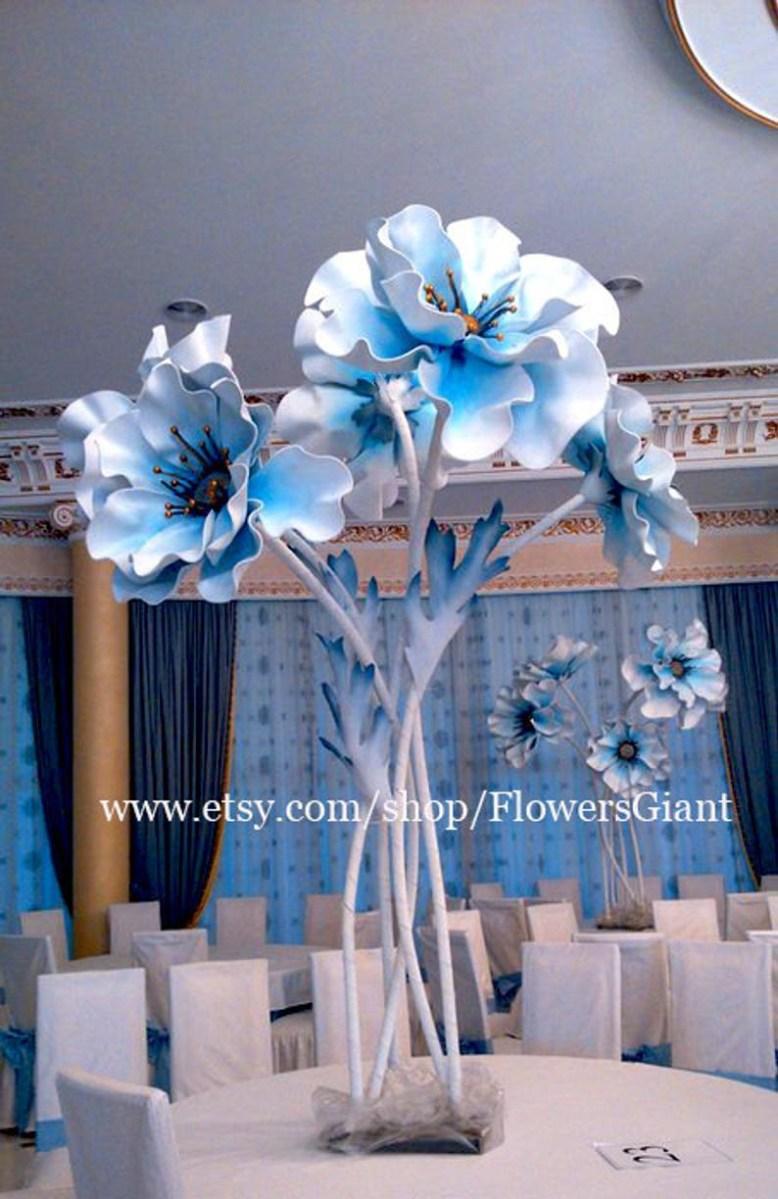 Dream Wedding Decorations Giant Anemone Flower Dream Wedding Wedding Decorations Etsy