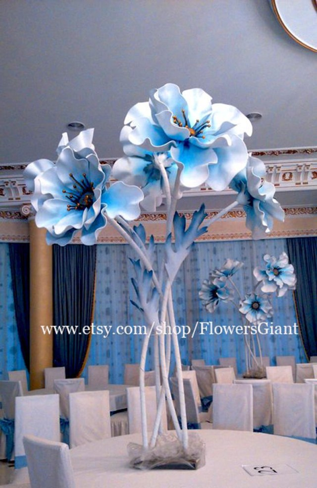 Dream Wedding Decorations Giant Anemone Flower Dream Wedding Wedding Decorations Etsy