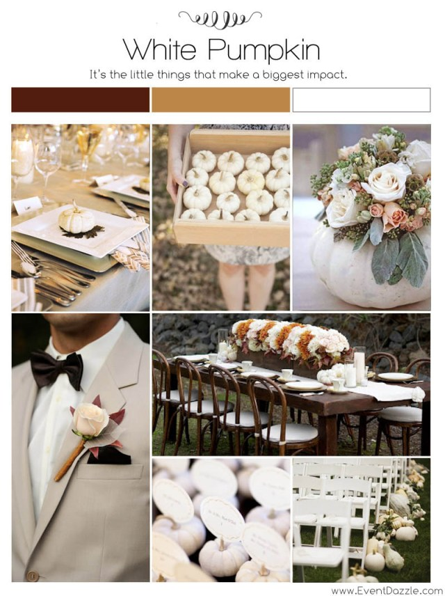 Dream Wedding Ideas White Pumpkin Fall Wedding Ideas Dream Weddings Start Here
