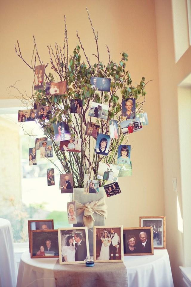 Easy Diy Wedding Decorations 26 Creative Diy Photo Display Wedding Decor Ideas Tulle
