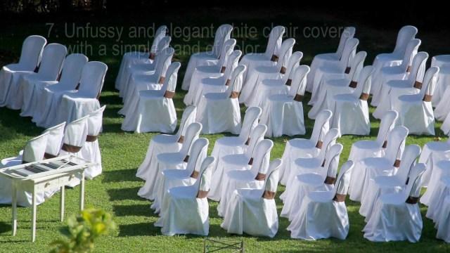Easy Wedding Decorations 16 Easy Wedding Chair Decoration Ideas Twis Weddings Youtube