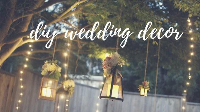 Easy Wedding Decorations Easy Wedding Decor Ideas Lighting Twine Balls Youtube
