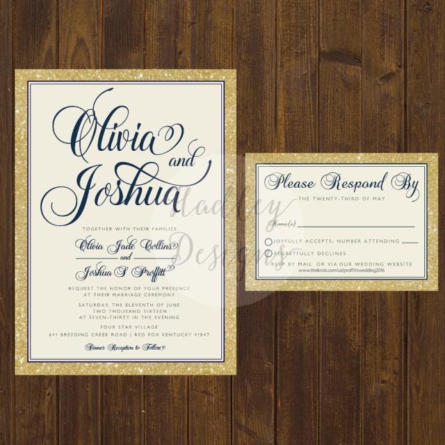 Elegant Wedding Invitation Hadley Designs Elegantclassic