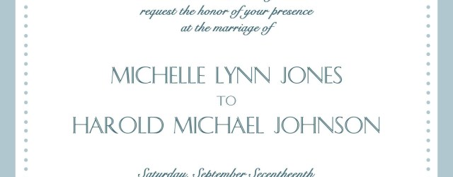 Examples Of Wedding Invitations Sample Wedding Invitation Cards In English Wedding Invitations In