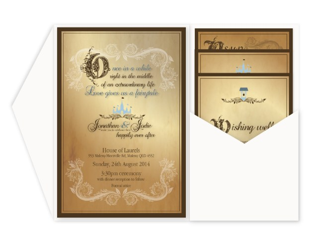 Fairytale Wedding Invitations Fairytale Wedding Invitations Marina Gallery Fine Art