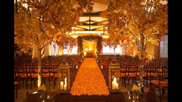 Fall Wedding Decoration Ideas Cheap Fall Wedding Decorating Ideas Youtube