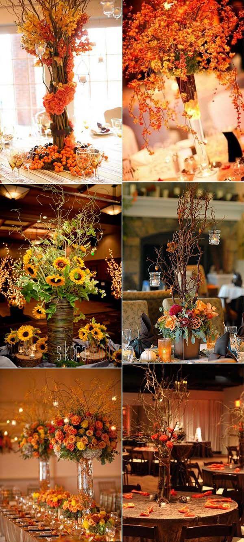 Fall Wedding Decorations 30 Fall Wedding Decor Ideas For Your Wedding Trendy Wedding Ideas Blog