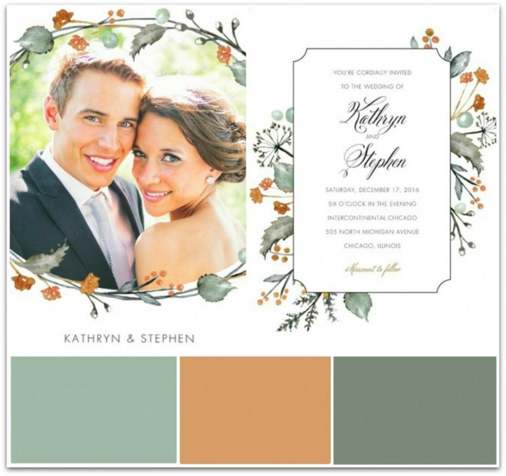 Fall Wedding Invitation Fall Wedding Invitation Ideas Bride Link