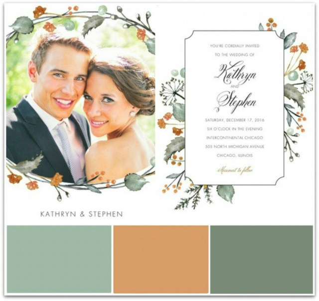 Fall Wedding Invitation Fall Wedding Invitation Ideas Bride Link