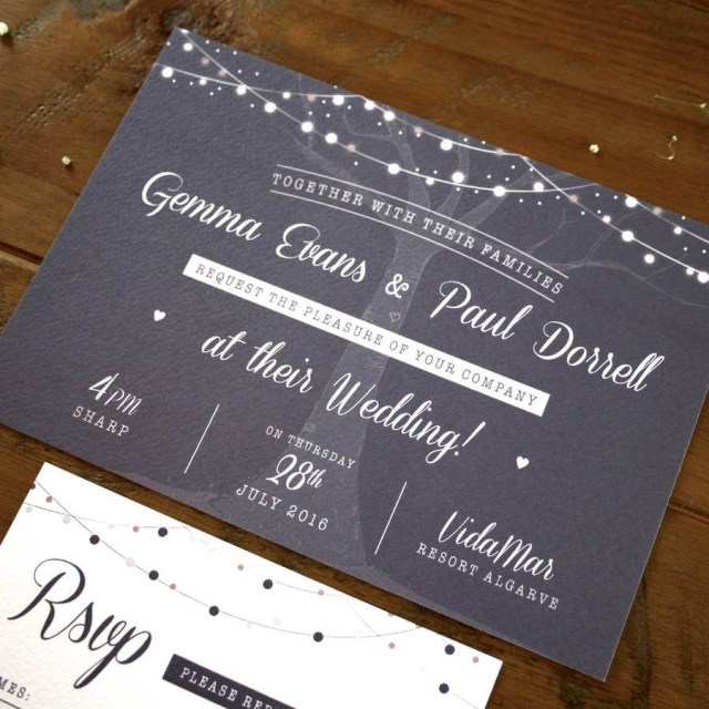 Forest Wedding Invitations Enchanted Forest Wedding Invitation Rodo Creative