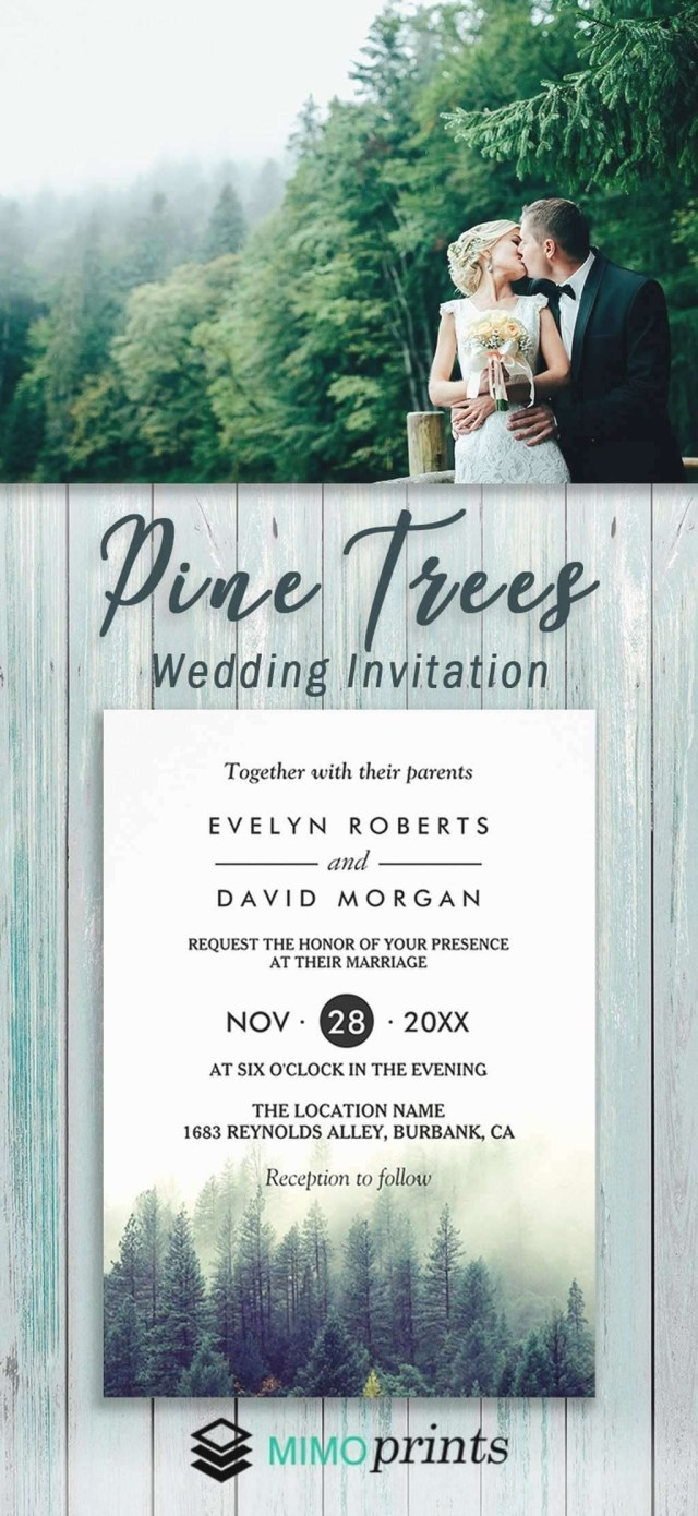 Forest Wedding Invitations Woodsy Wedding Invitations Lovely Forest Wedding Invitations