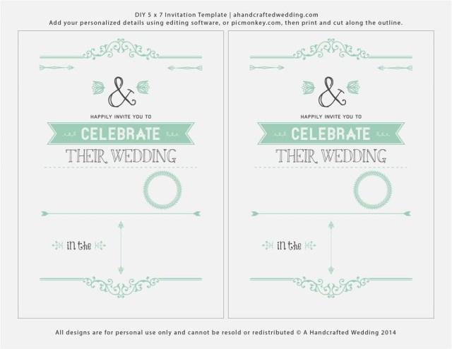 Free Printable Wedding Invitation Templates For Word Free Printable Wedding Invitation Templates For Microsoft Word