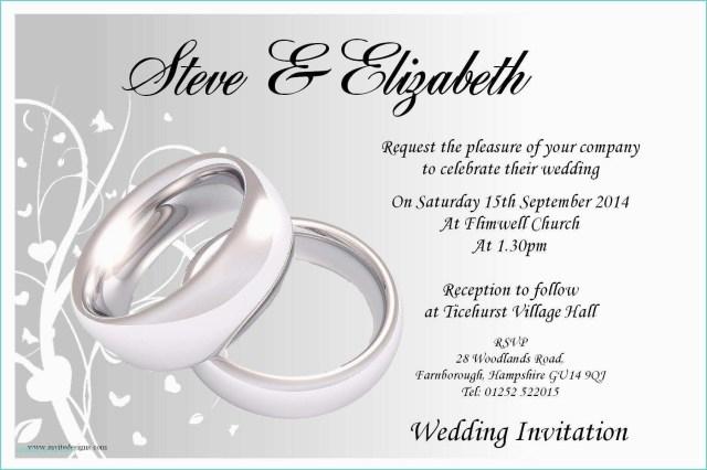 Free Printable Wedding Invitation Templates For Word Free Printable Wedding Invitation Templates For Word Free Printable