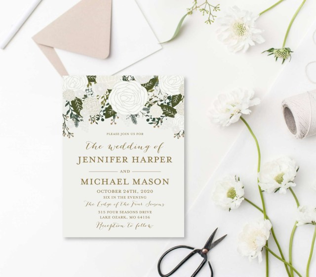 Free Printable Wedding Invitations Free Printable Wedding Shower Invitation Templates Indiansocial