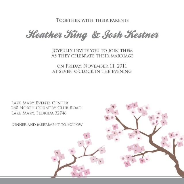 Free Wedding Invitation Templates For Word Free Wedding Invitation Templates For Word Whats So Intriguing