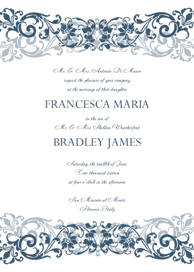 Free Wedding Invitations 30 Free Wedding Invitations Templates 21st Bridal World