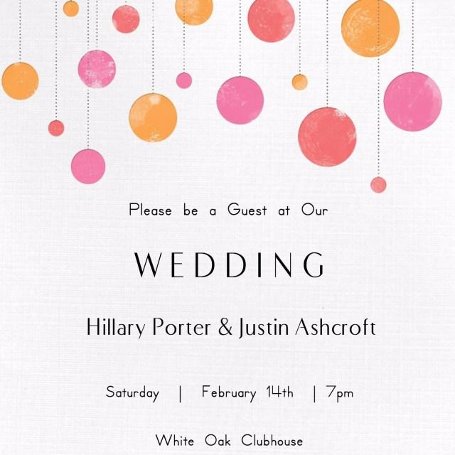 Free Wedding Invitations Free Printable Wedding Invitations Popsugar Smart Living