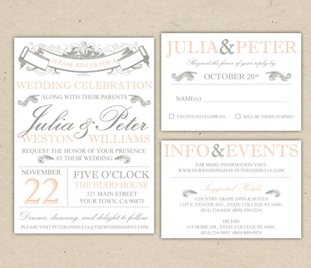 Free Wedding Invitations Free Wedding Invitation Templates Home Of Design Ideas
