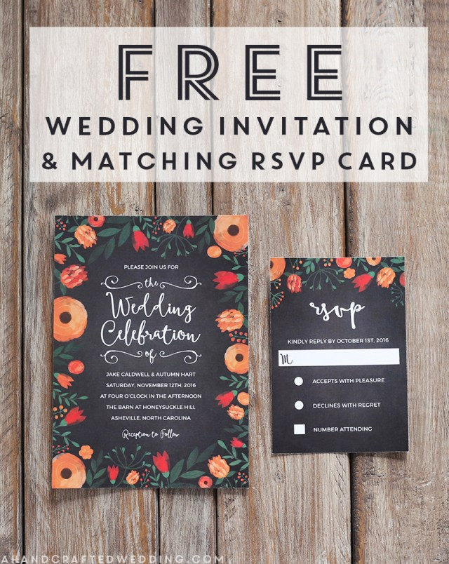Free Wedding Invitations Free Whimsical Wedding Invitation Template Mountain Modern Life