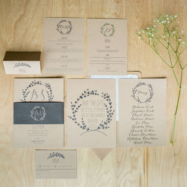 Garden Wedding Invitations Modern Wedding Invitation Inspiration For An English Garden Wedding