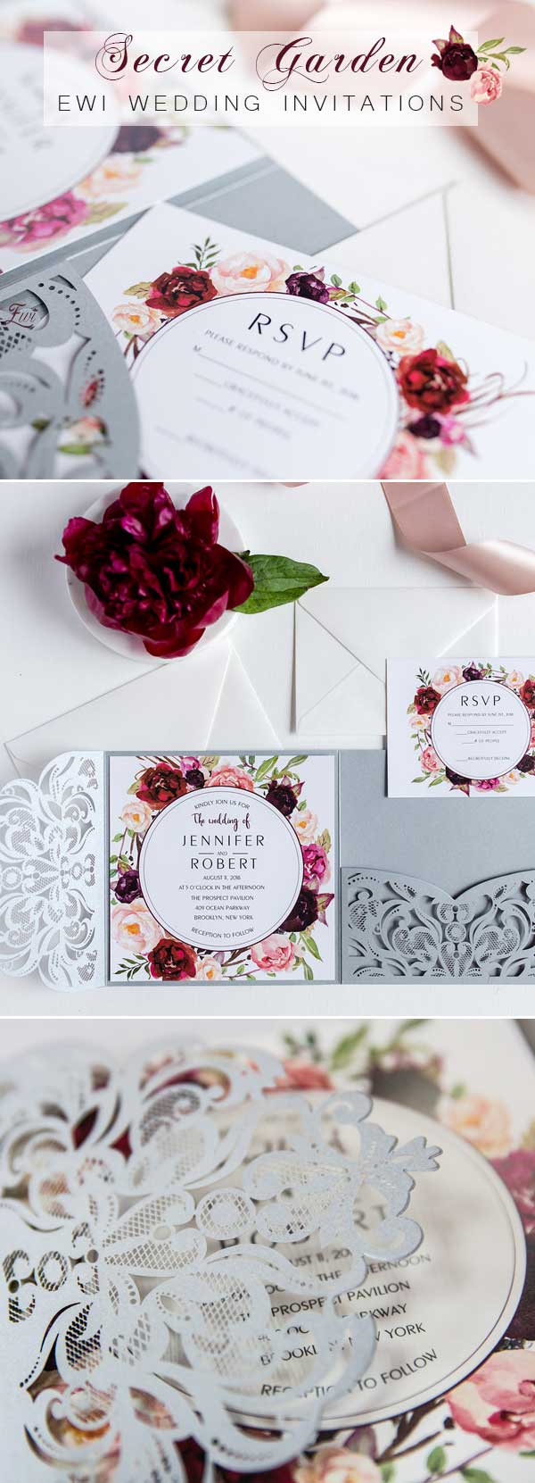 Garden Wedding Invitations Top 8 Garden Themed Wedding Invitation Cards At